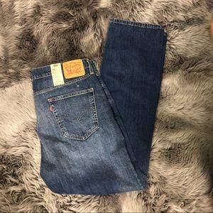 Levi's Men's Straight Fit Jeans: 514 (PM574)